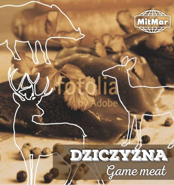 Mięso z dziczyzny mrożone lub chłodzone