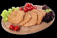 Kotlety drobiowe pieczone do hamburgerów