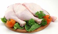 Podudzie z kurczaka i inne elementy