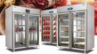 Szafy chłodnicze - dojrzewalnie wołowiny, wędlin, serów