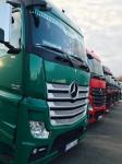 Transport produktów spożywczych do dystrybutora, sieci handlowych