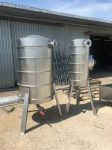 Zbiorniki do systemu transportu ciśnieniowego