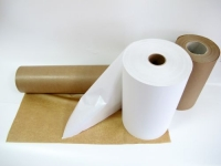 Papier PE biały i brązowy