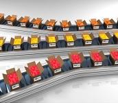 Urządzenia do sortowania i etykietowania produktów