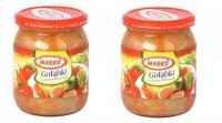 Gołąbki w sosie pomidorowym  w słoiku