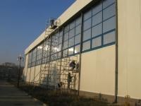 Mycie elewacji budynków