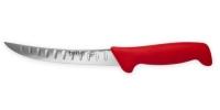 Nóż masarski nr. 16K szlif kulowy (15cm) czerwony Polkars
