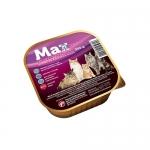 Karma dla kotów Max Premium dla kota Kurczak i wątróbka 300g