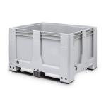 Skrzyniopaleta plastikowa MaxiLog® wym. 1200 X 1000 X 760 mm na płozach